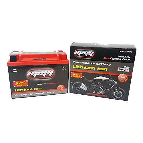 YTX24HL-BS Lithium Ion Sealed Battery 12V Motorcycles Harley-Davidson FL FLH Series Touring (MMG6) ()