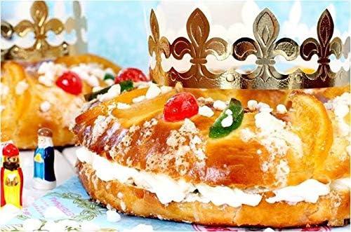 For my cake Kit Roscón de Reyes (Corona, Rey y Haba): Amazon.es: Hogar