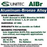 CS Unitec EX108U-0200A Non-Sparking Aluminum Bronze