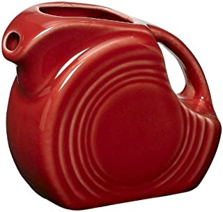 product image for Fiesta 5-Ounce Miniature Disk Pitcher, Scarlet