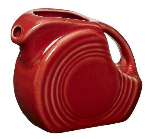 Fiesta 5-Ounce Miniature Disk Pitcher, Scarlet (Fiesta Dinnerware Pitcher compare prices)