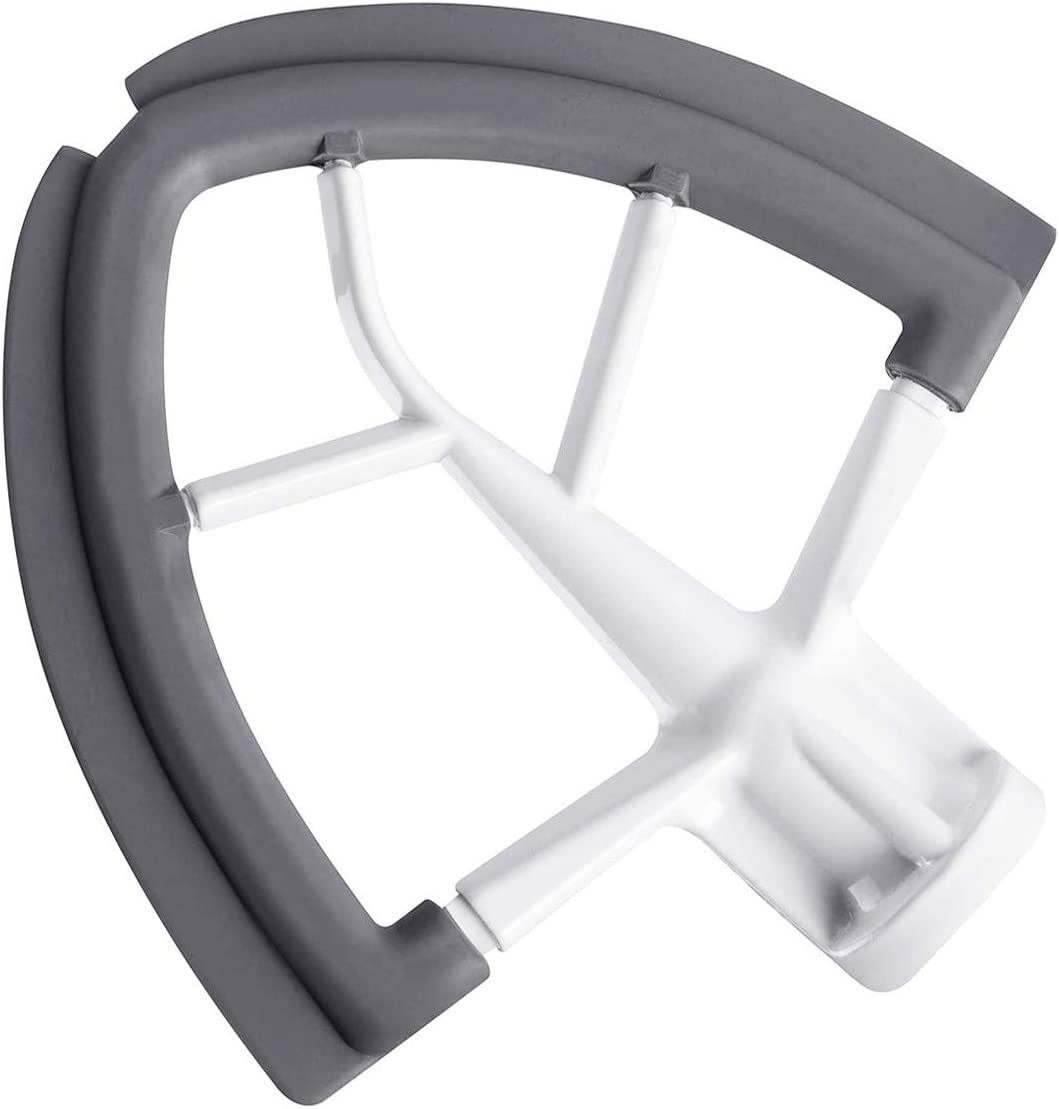 Flex Edge Beater for 4.5-5 Quart KitchenAid Tilt-Head Stand Mixer, Flat Beater Bowl Scraper with Silicone Edges