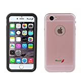 iPhone 6/6S Waterproof Case,TACOO Aluminum Alloy [Metal Frame] [Thin Fit] IP68 Standard Protection Fully Sealed Extreme Durable Duty Screen Protector Full Function Cover Case for iPhone 6/6s-Rose Gold