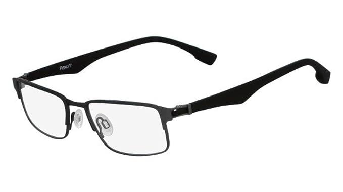 Flexon Men\'s Eyeglasses Flexon E1062 033 Gunmetal: Amazon.co.uk ...