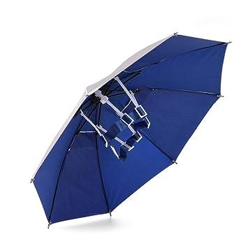 cd3a12b6d014c RUNACC Sun-proof Umbrella Hat Folding Umbrella Cap Lightweight Sun Rain  Headwear