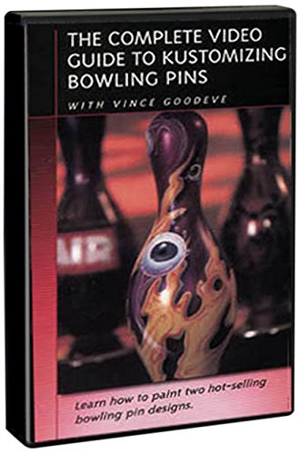 Complete Video Guide to Kustomizing Bowling Pins (Airbrush Videos Dvd)