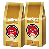 Lavazza Qualita Oro Coffee Beans, 1000g (Pack of 2, Total 2000g) by Lavazza