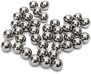 QZsteelball 1000pcs 3/8inch Steel Ball Slingshot Ammo 9.525mm Precision Steel Bearing Balls