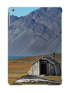 Christmas Day's Gift- New Arrival Cover Case With Nice Design For Ipad Air- Abandoned House In Svalbard Norway