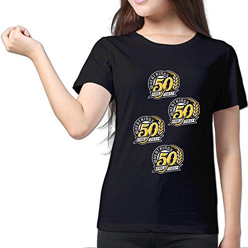 Brandon-Wheat-Kings-Black-Womens-Sport-T-Shirt-For-Women-Size-XL