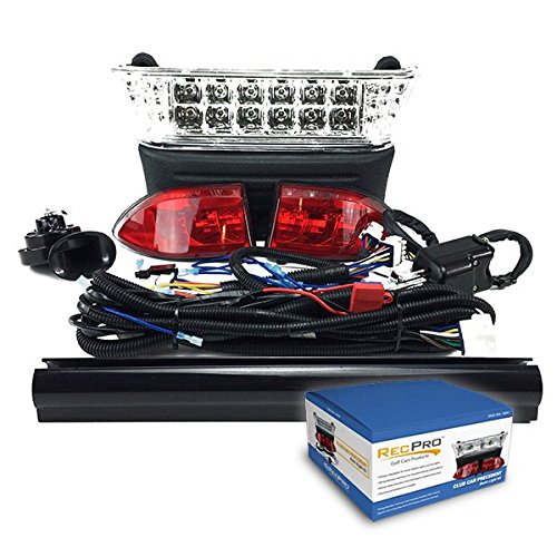 - RecPro CLUB CAR PRECEDENT GOLF CART LED DELUXE All LED LIGHT KIT W/ TURN SIGNALS 2008.5-NEWER
