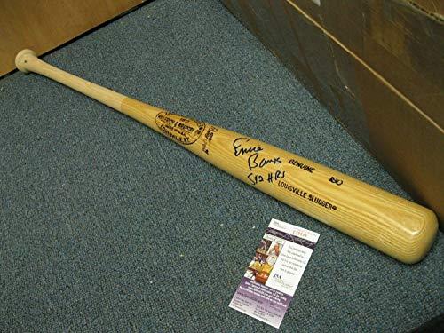 Ernie Banks Autographed Signed Ls Baseball Bat JSA Cert Perfect Signature - Authentic - Banks Signature Ernie Bats