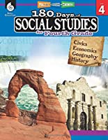 180 Days of Social Studies for Fourth Grade - Daily Practice Book to Improve 4th Grade Social Studies Skills - Social Studies Workbook for Kids Ages 8 to 10 (180 Days of Practice, Level 4)
