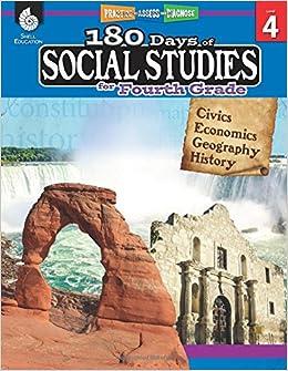 Amazon com: 180 Days of Social Studies: Grade 4 - Daily