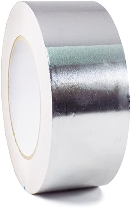 12 in x 50 yds. WOD AF-20R General Purpose Heat Resistant Aluminum Foil Tape