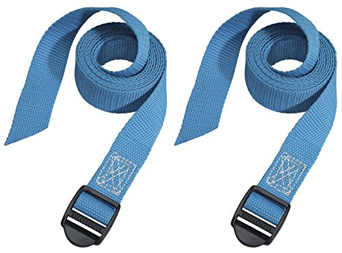Masterlock Lashing Straps with Plastic Buckle 1.2M (2) Coloured