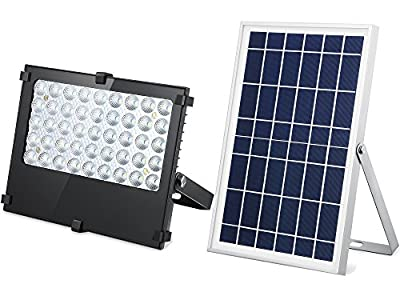 SunBonar Solar Flood/Spot Light, 1000 Lumens Security Light, Auto ON/OFF Dusk to Dawn Smart Light, All-Purpose LED Light for Billboard, Sign, Path, Flag, Backyard, Porch, Garage and more.