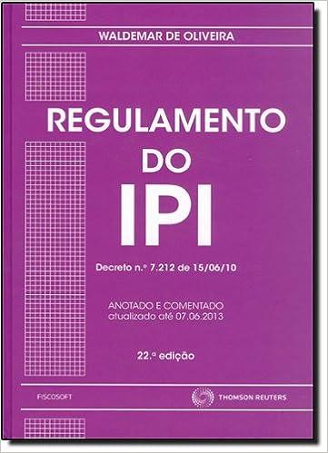 Regulamento do IPI - 9788587365774 - Livros na Amazon Brasil ef24bc8ede
