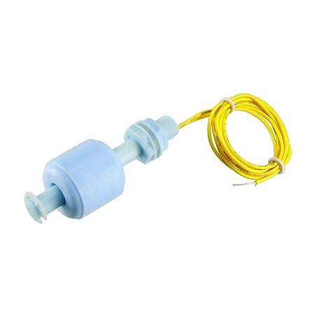 Sourcingmap - Pecera flotador sensor de nivel de agua líquida interruptor azul