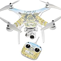 Skin For DJI Phantom 3 Standard – Through Christ | MightySkins Protective, Durable, and Unique Vinyl Decal wrap cover | Easy To Apply, Remove, and Change Styles | Made in the USA