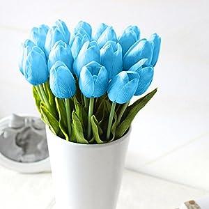 Home Decor, 5pcs/Set DIY Artificial Silk Craft Flowers for Bouquets, Weddings, Wreaths,Crafts, Bud Stem Closed Rose 4