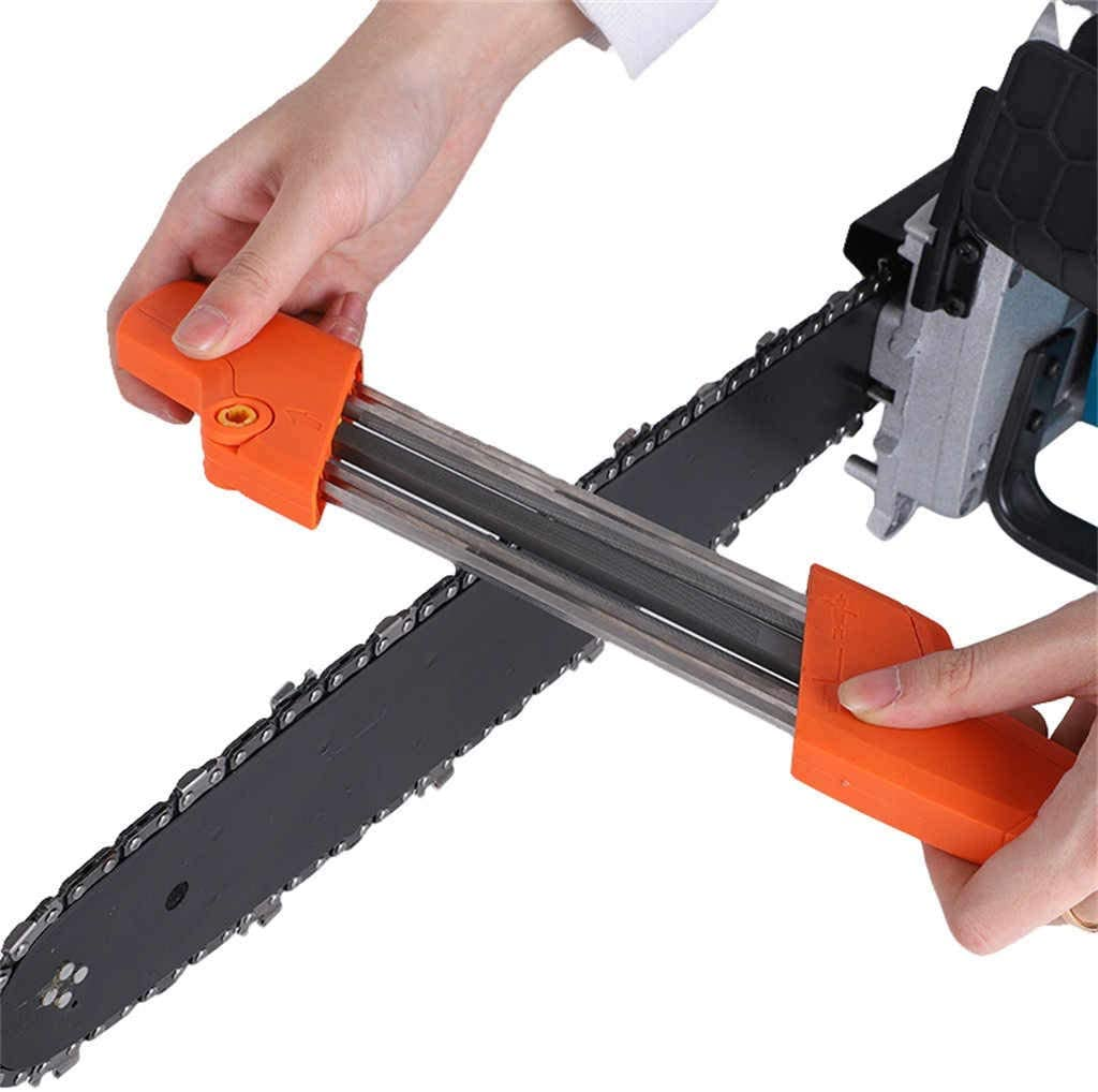 2in1 Chain Sharpener Chains Grinding Tool Manual Chainsaw Sharpener Fast W0K2