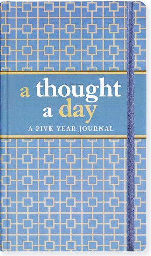 A Thought A Day: Five Year Journal (Diary, Notebook) from Brand: Peter Pauper Press