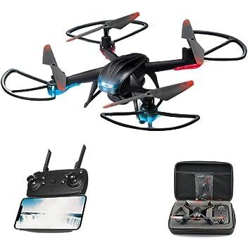 Drone con cámara HD 720p Quadcopter FPV Drone con un botón de ...