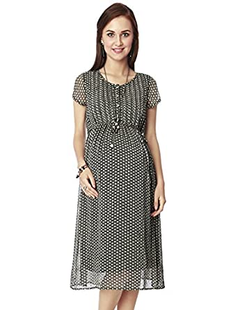 75af918892 Nine Maternity Dress  Amazon.in  Clothing   Accessories