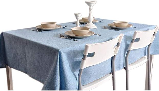 Mantel Rectángulo de Manteles de Algodón Y Lino Color Sólido Simple, 9 Colores, 8 Tamaños, B-T, F, el 140×250cm: Amazon.es: Bricolaje y herramientas