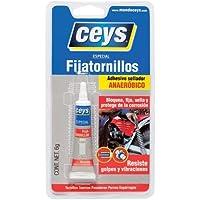 ceys 501033 Adhesivo fijatornillos, Azul, 0