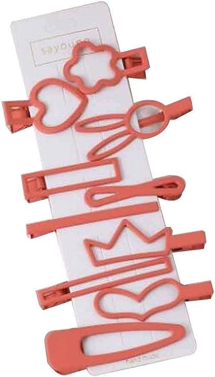 Mezcla pinzas para el cabello coloridas Pinzas para el cabello para mujeres Bobby Hair Pins #38: Amazon.es: Belleza