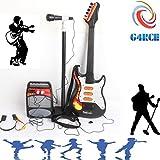G4RCE Kids Toy Guitar Microphone Set Karaoke Boys & Girls Kids Stand Sing Play Set Best Gift for Birthday Xmas