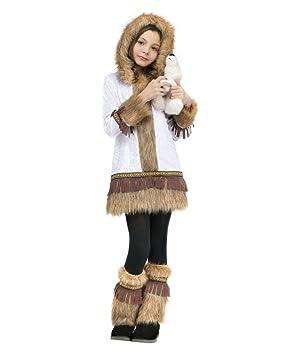 Horror-Shop Disfraz de niña esquimal XL: Amazon.es: Juguetes ...