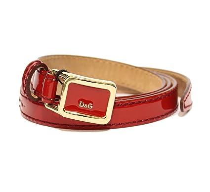 Dolce   Gabbana D G - Ceinture - Femme rouge rouge  Amazon.fr ... 3a994be495c