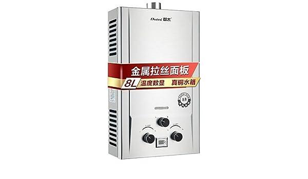 Eccotemp Calentador de agua de Paso de Exterior, portátil, de 5 litros CE-L5: Amazon.es: Deportes y aire libre