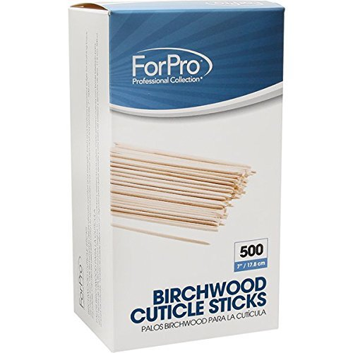 - For Pro Birchwood Cuticle Sticks, 500 Count by For Pro