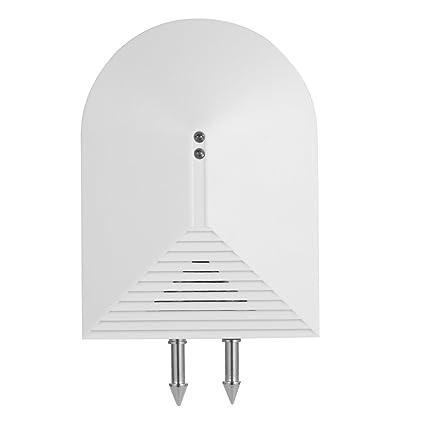 OWSOO 433MHz Sensor Inalámbrico de Agua Sensor de Inundación para Sistema de Alarma para Hogar