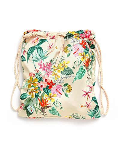 - ban.do Women's Got Your Back Drawstring Floral Backpack, Paradiso
