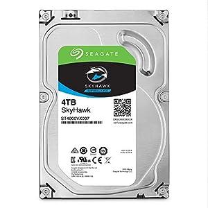 Seagate SkyHawk 4TB Surveillance Internal Hard Drive HDD – 3.5 Inch SATA 6GB/s 64MB Cache for DVR NVR Security Camera…