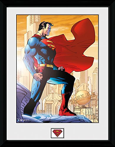 DC Comics Superman Daily Planet Framed Photograph, 16 x 12 inch GB eye Ltd PFC792