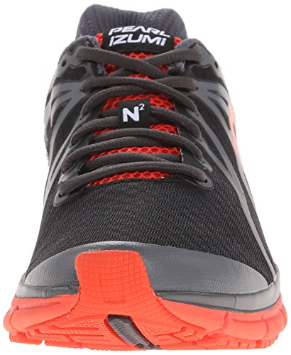 Pearl iZUMi Men EM Road N2 v2 Running Shoe Black/Shadow Grey