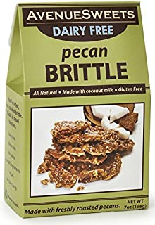 product image for AvenueSweets - Handcrafted Old Fashioned Dairy Free Vegan Nut Brittle - 7 oz Box - Pecan