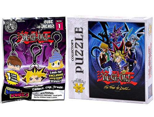 Yu-Gi-Oh Cube Heads Blind Bag Clip & Collectors Puzzle