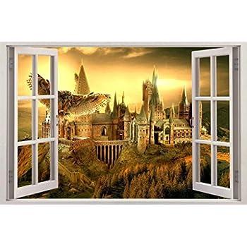 Amazon.com: Roommates Rmk1547Scs Harry Potter Peel And Stick Wall ...