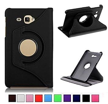 MOCA 4397793 Flip Cover for Samsung Galaxy Tab J Max/Tab 7.0 inch T285/T280  Black  Bags,Cases   Sleeves