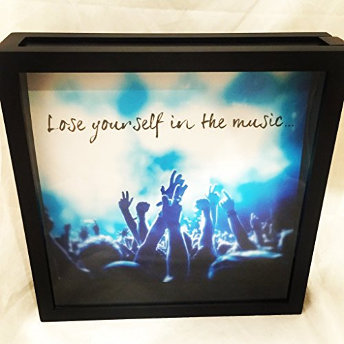 Concert Ticket Shadow Box, Ticket Stub Box, Keepsake Shadow Box, Graduation Gift (