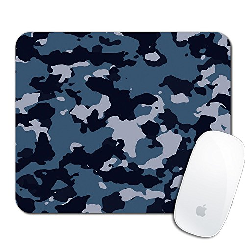 Royal Up Camouflage Custom Mouse Pad Gaming Mat Keyboard Pad Waterproof Material Non-slip Personalized Rectangle Mouse pad (9.4x7.8x0.08Inch)