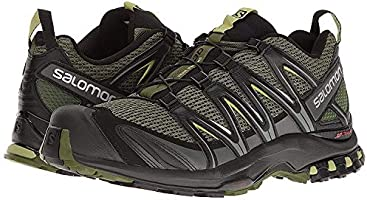 Salomon Men's XA Pro 3D Trail Running Shoes, ChiveBlackBeluga, 7.5