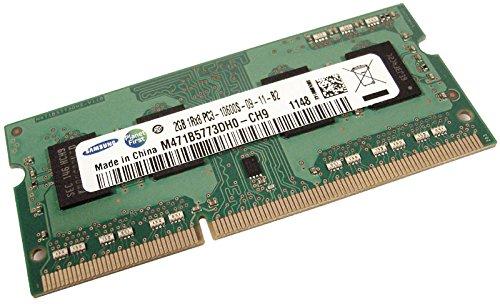(M471B5773DH0-CH9 SAMSUNG 2GB DDR3 1333MHZ PC3-10600 204-PIN CL9 Single Rank Non-ECC UNBUFFERED SODIMM Memory)